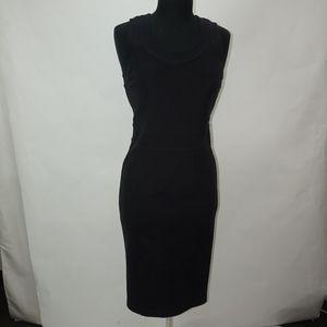 NWT Designer Burberry London Black Dress US8